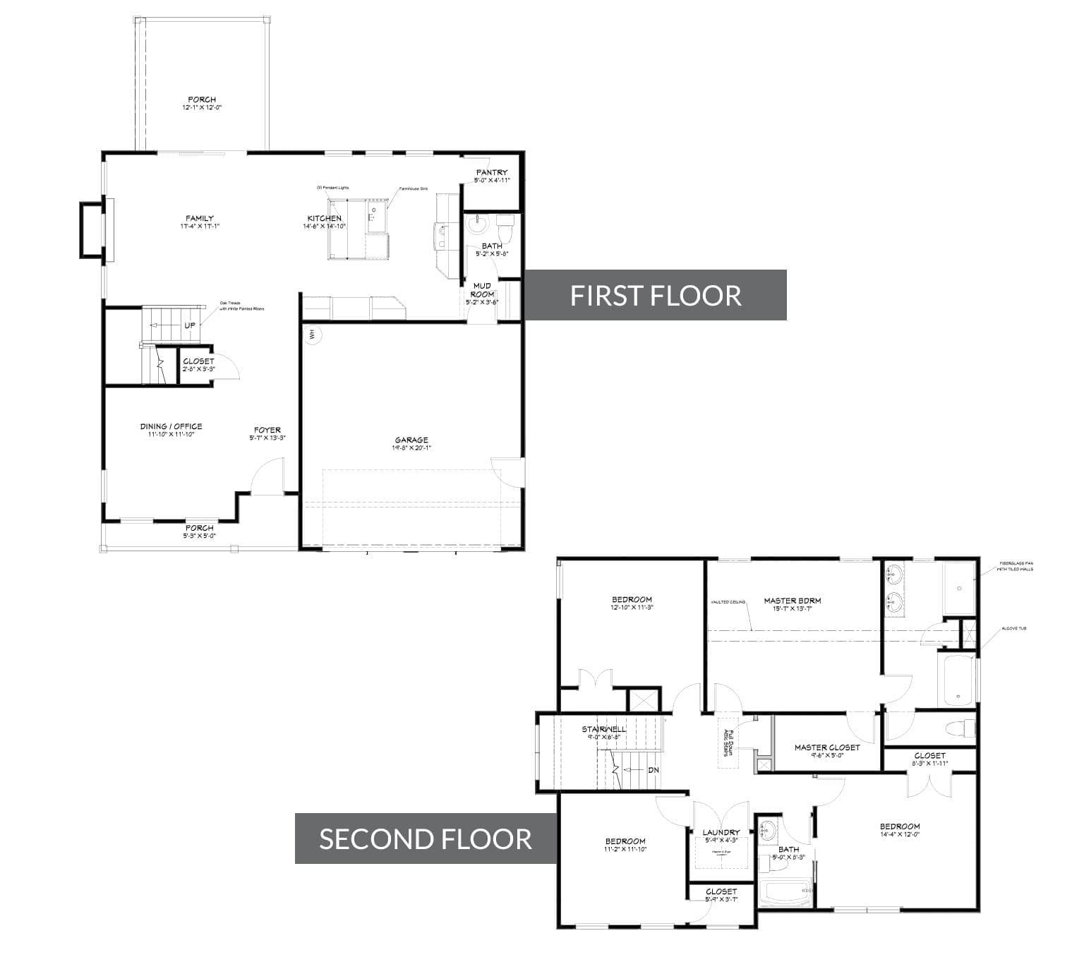 James Floorplan